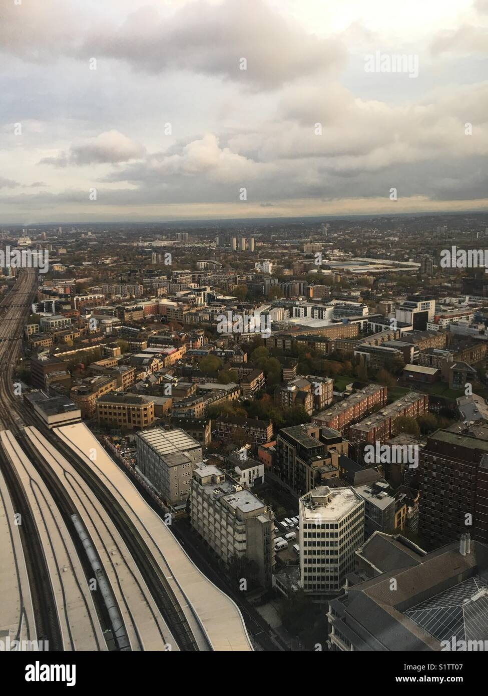London from above - Stock Image