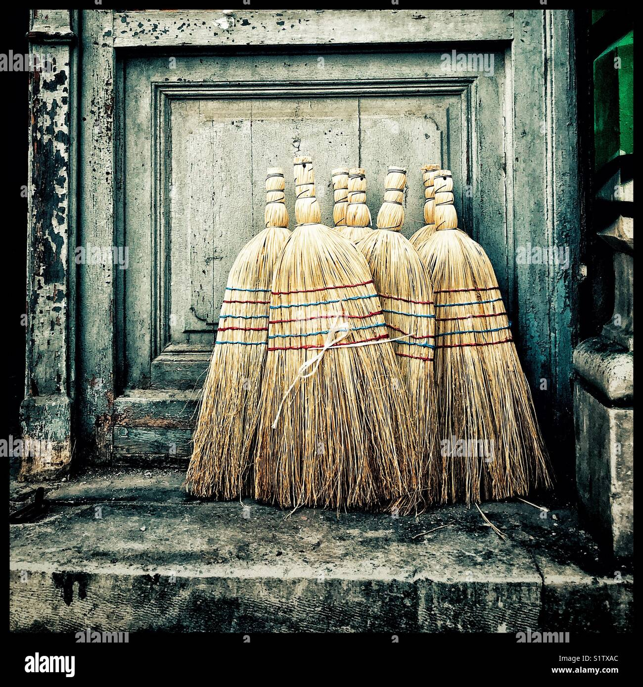 Straw Brooms Stock Photos Amp Straw Brooms Stock Images Alamy
