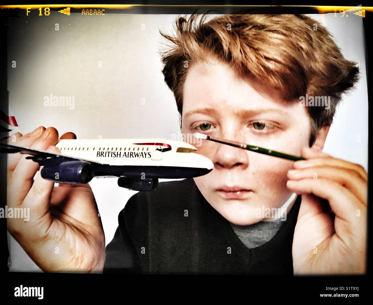 Model maker - Stock Image