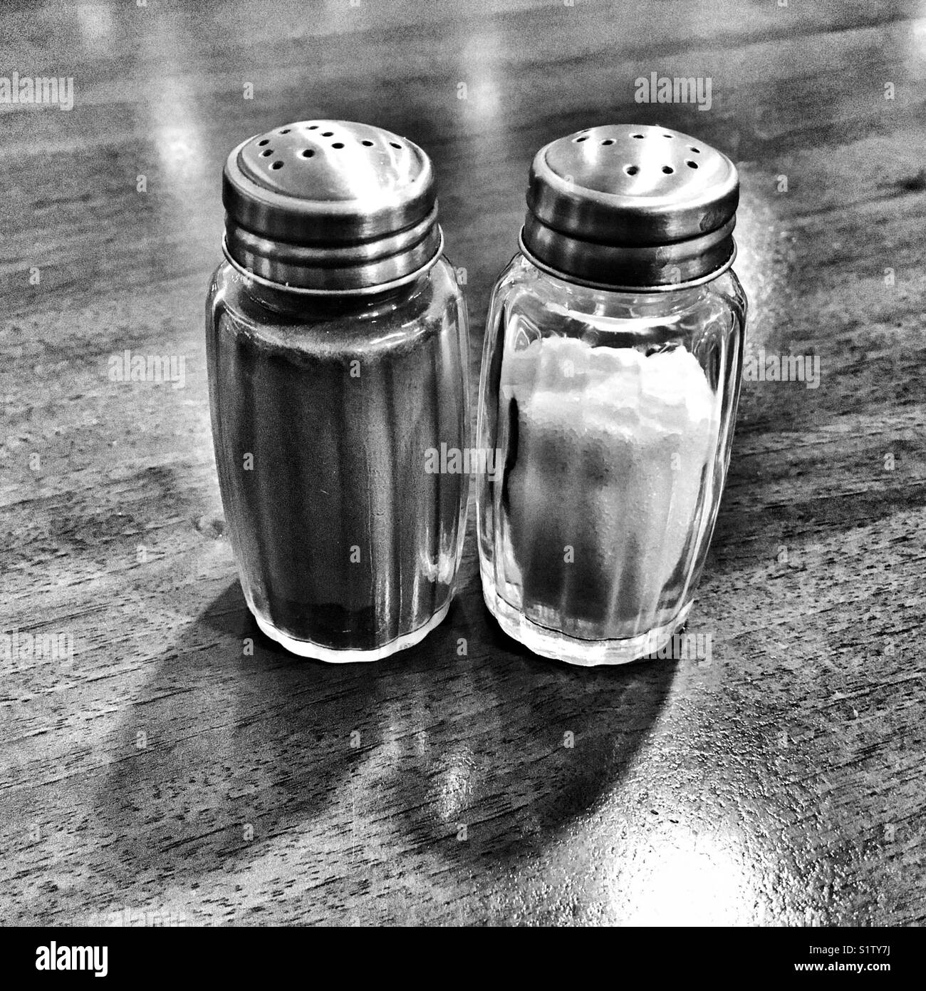 Salt And Pepper Shakers High Resolution Stock Photography And Images Alamy