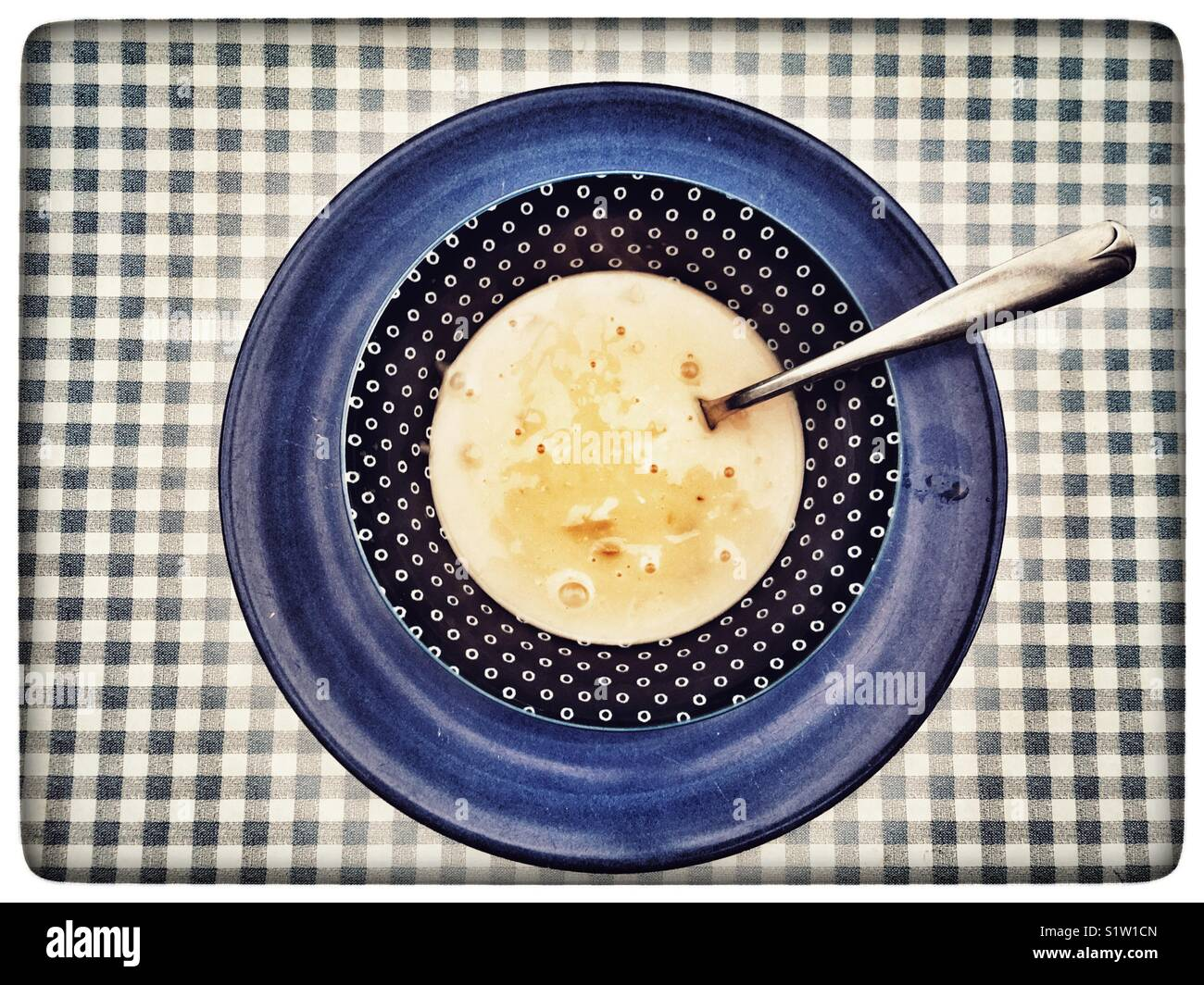 Elsinore Clam Chowder soup - Stock Image