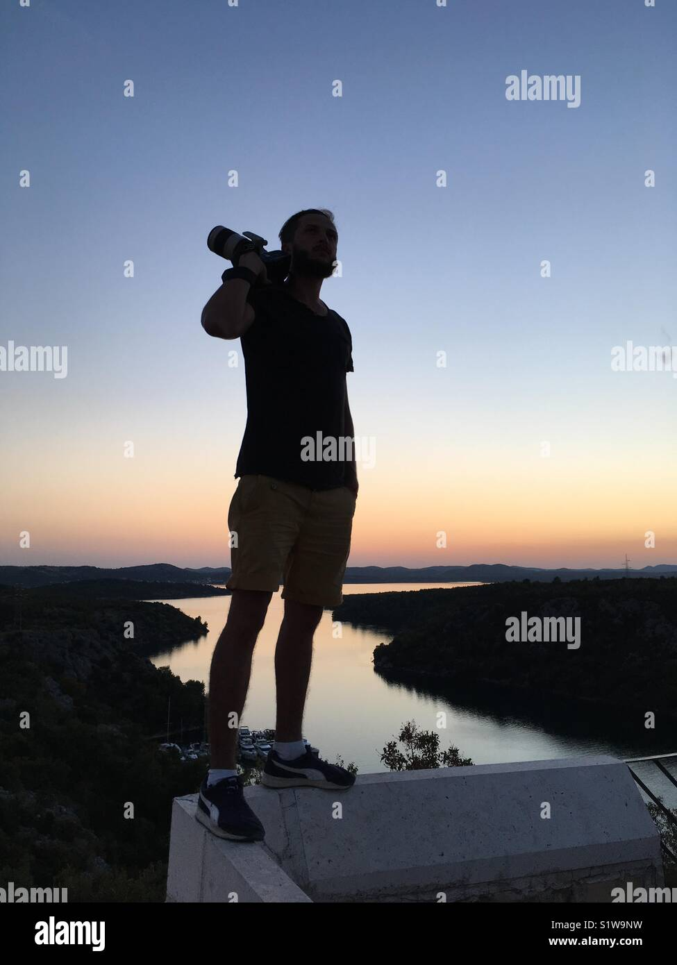 Camera Man - Stock Image
