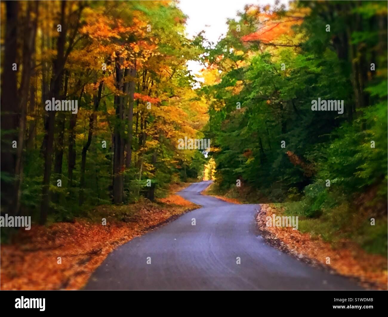 Country Roads Take Me Home Stock Photo Alamy