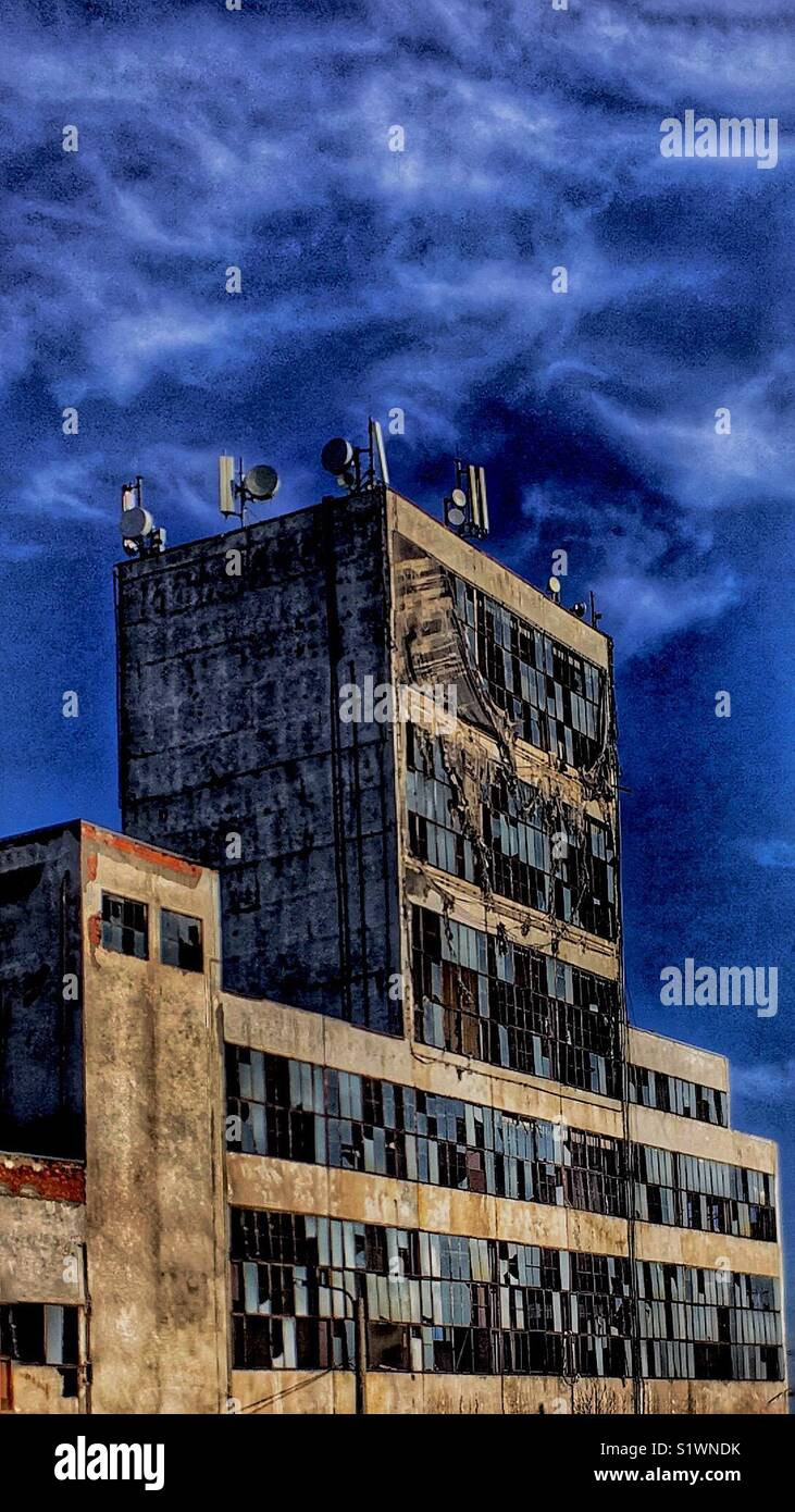 Horror building - Stock Image