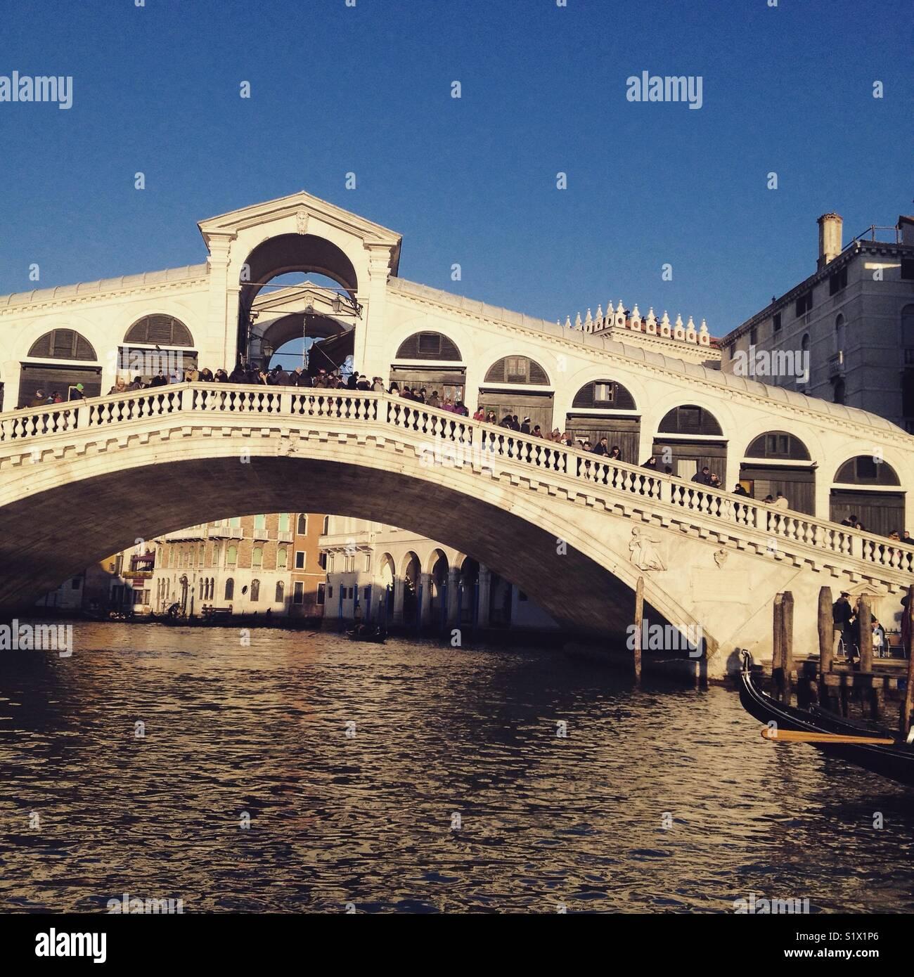 Ponte di Rialto, Venice, architecture, Italy, history, astonishing, breathless, romantic, heritage, travel, place - Stock Image