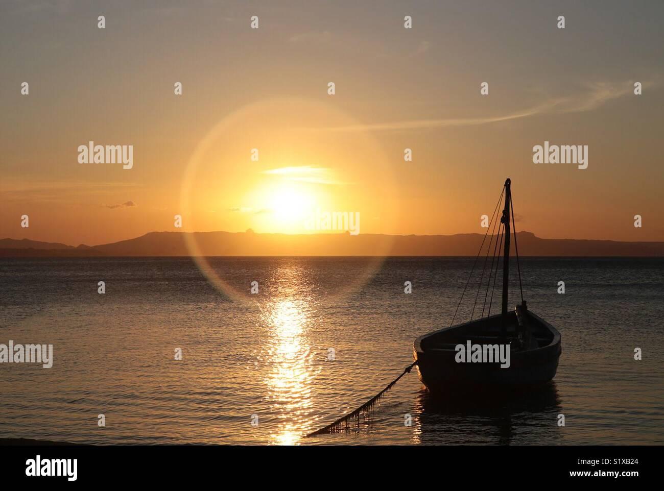 Puesta de sol - Stock Image