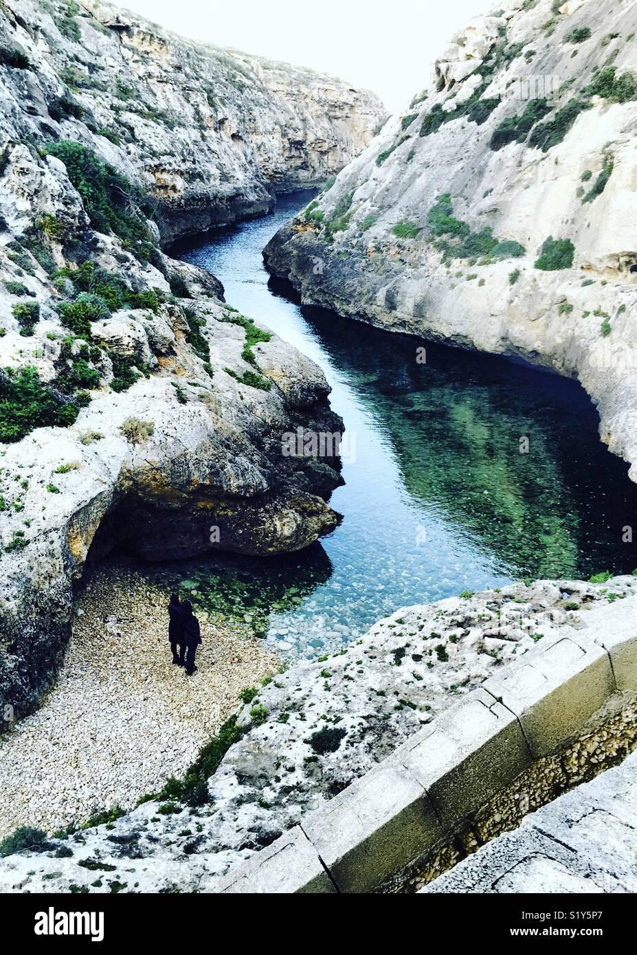 Maltese Getaway - Stock Image