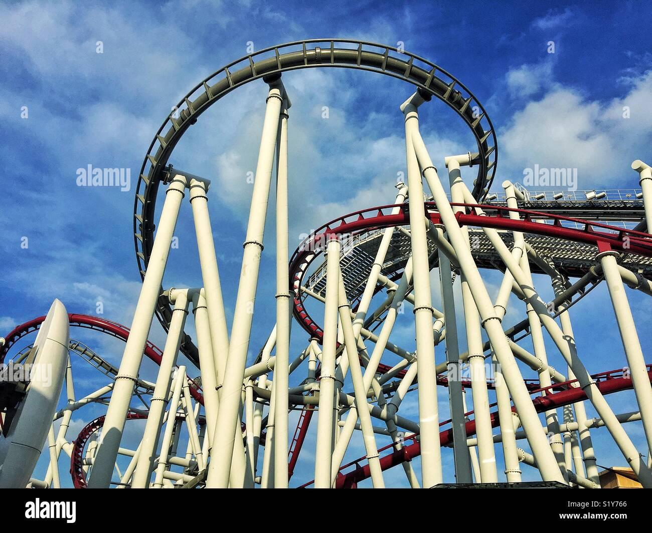 Thrill - Stock Image