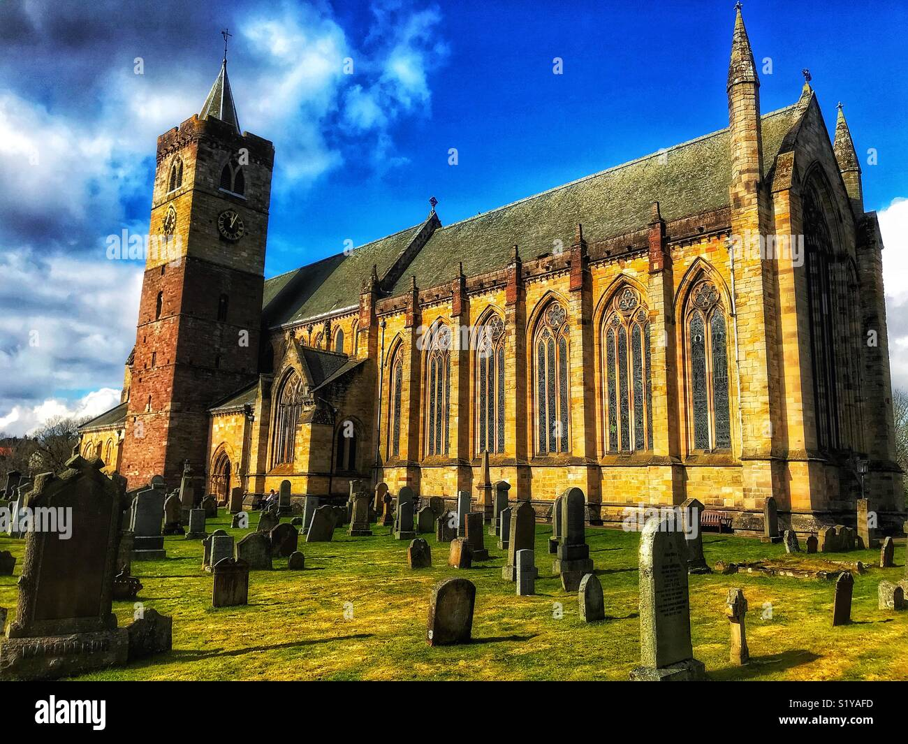 Dunblane Cathedral - Stock Image