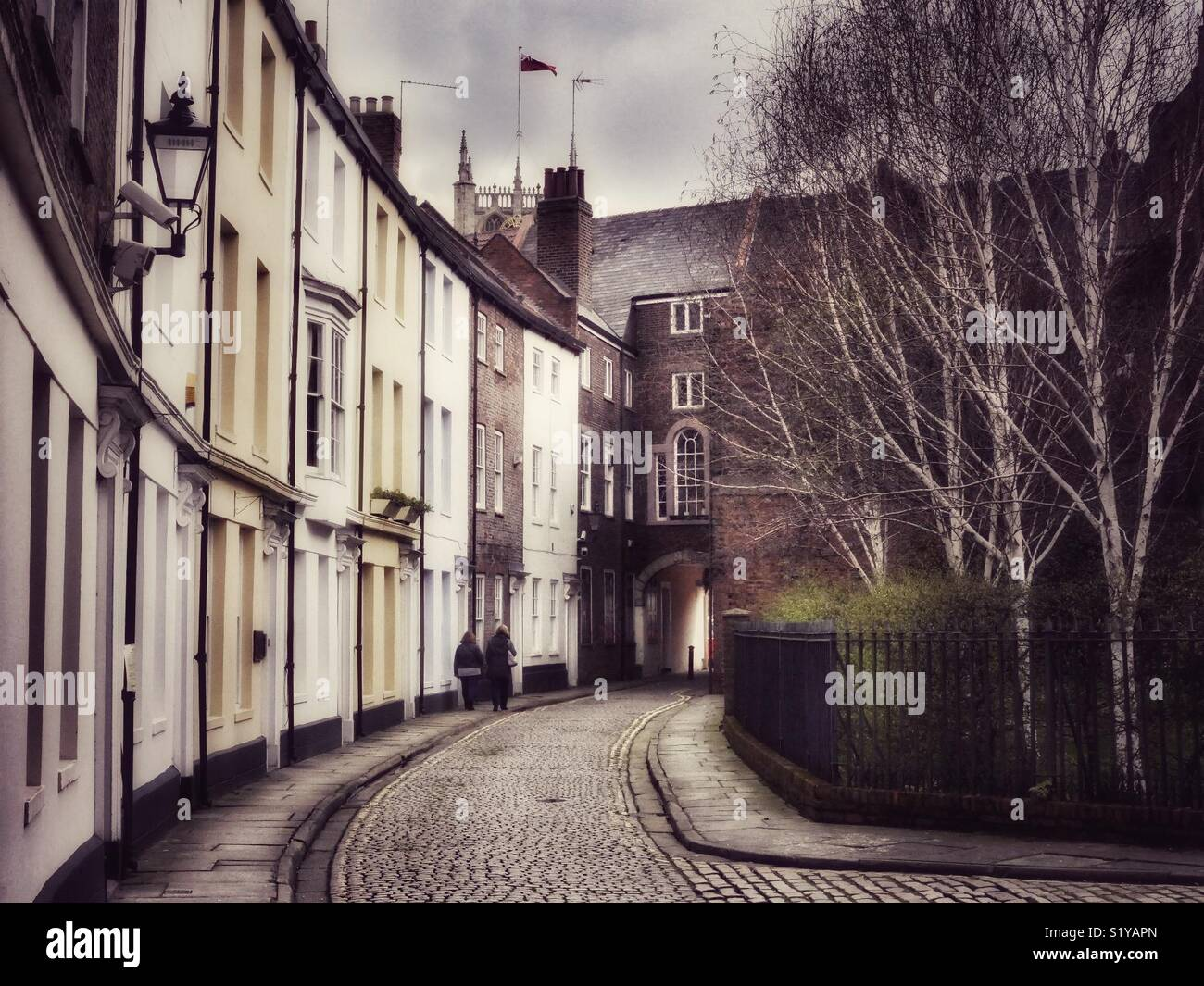 Prince Street, old town, Kingston-upon-Hull, England, UK Stock Photo