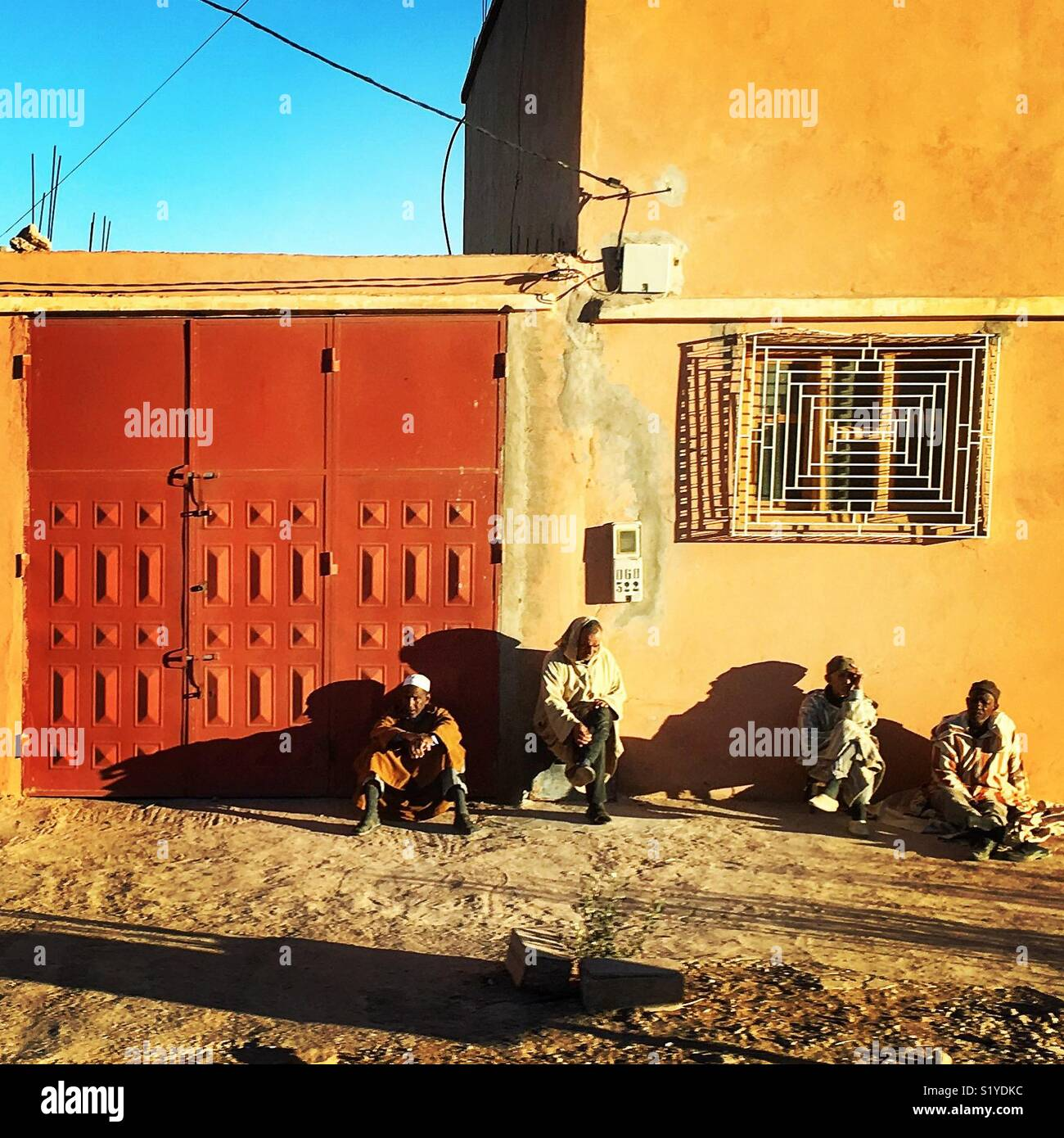 Morocco people lifestyle in a day Stock Photo