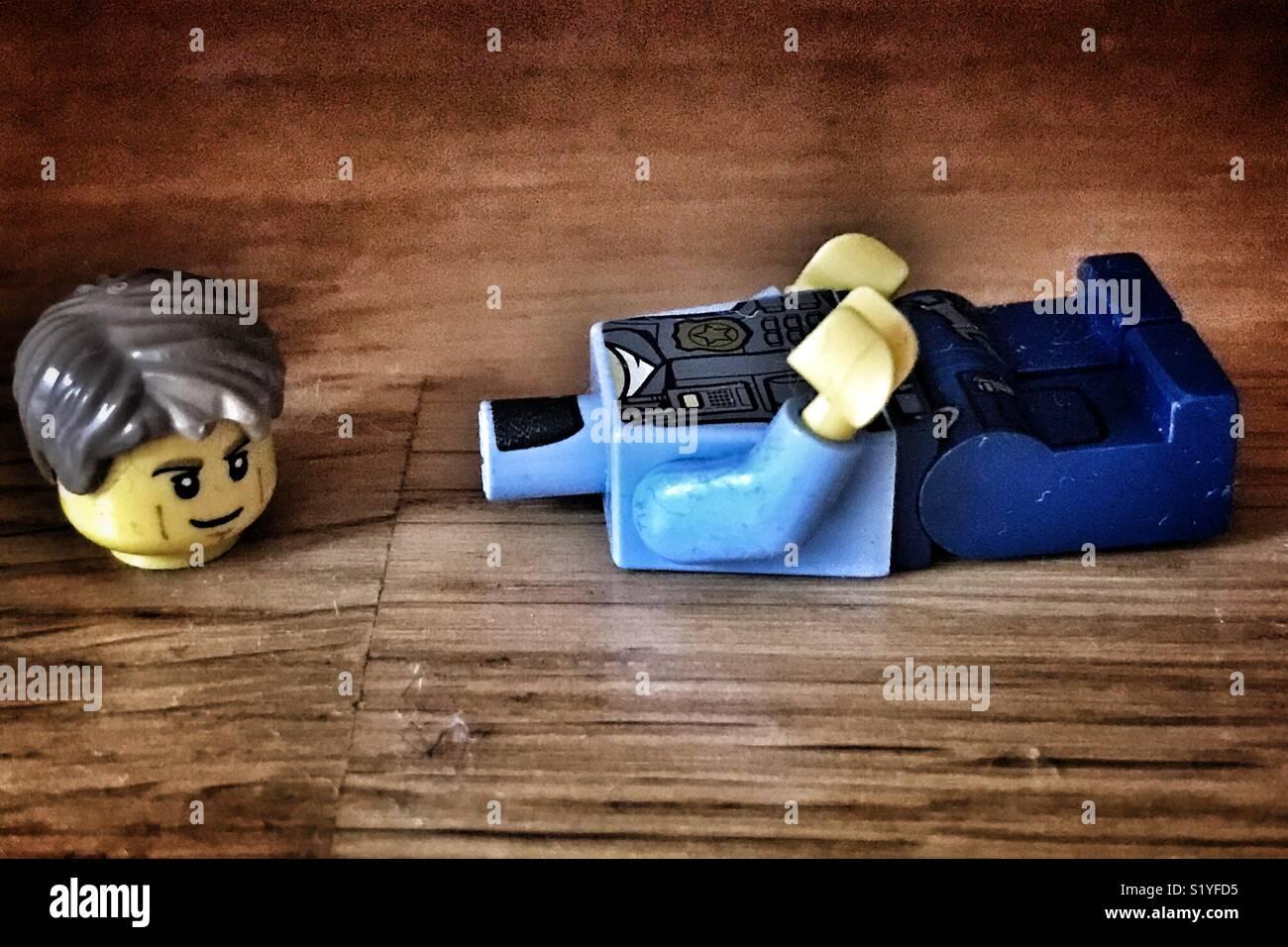 Abandoned toys 4 - Stock Image