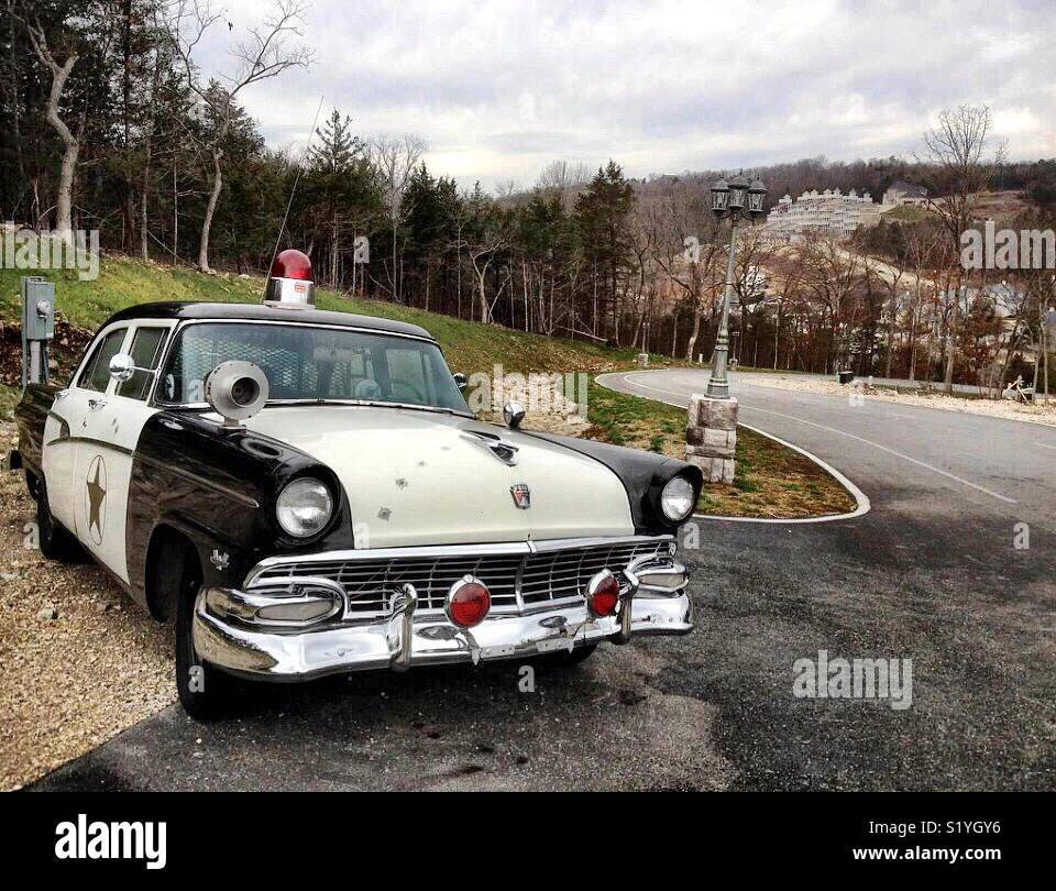 Classic Police Car Stock Photos & Classic Police Car Stock Images ...