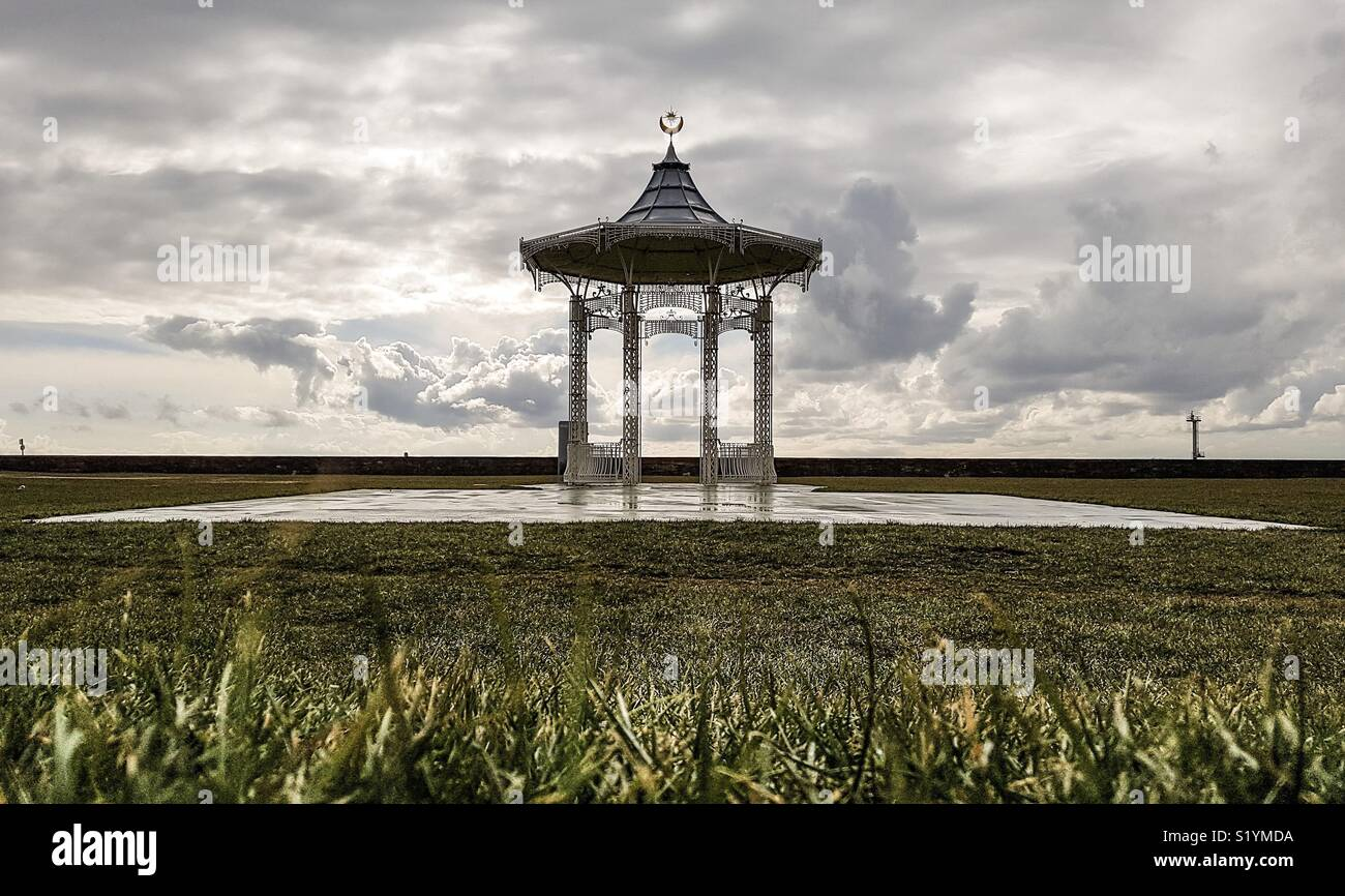 Southsea Bandstand - Stock Image
