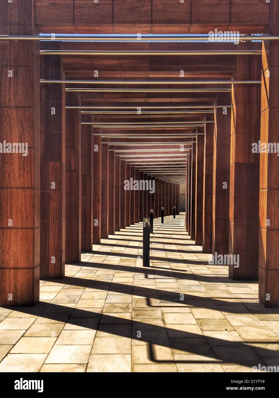 Lines and shadows - Stock Image