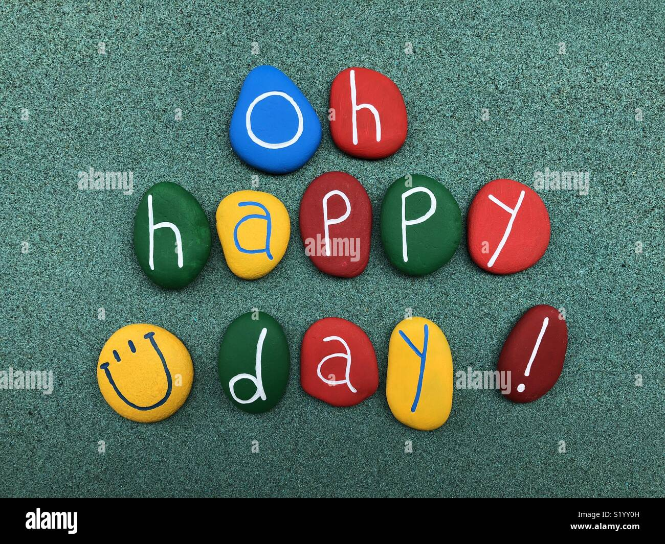 Oh Happy Day ! Stock Photo