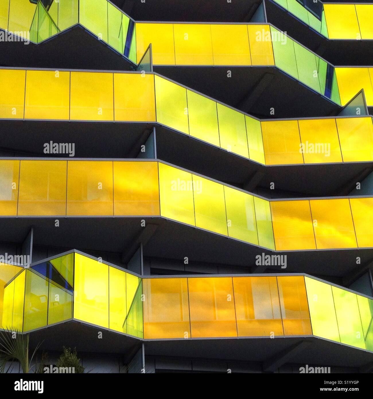Koh-I-Noor Building, Montpellier France - Stock Image