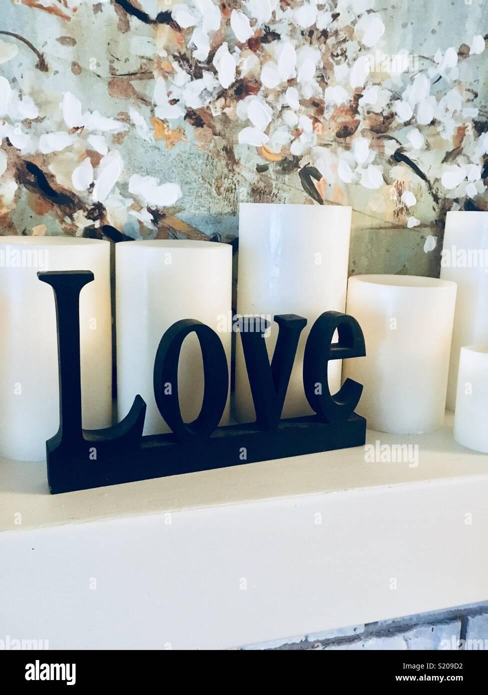 Simple love - Stock Image