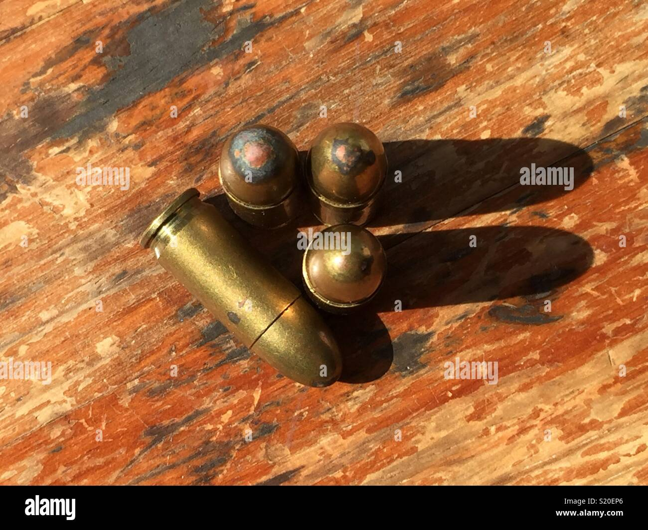 Some bullets - Stock Image