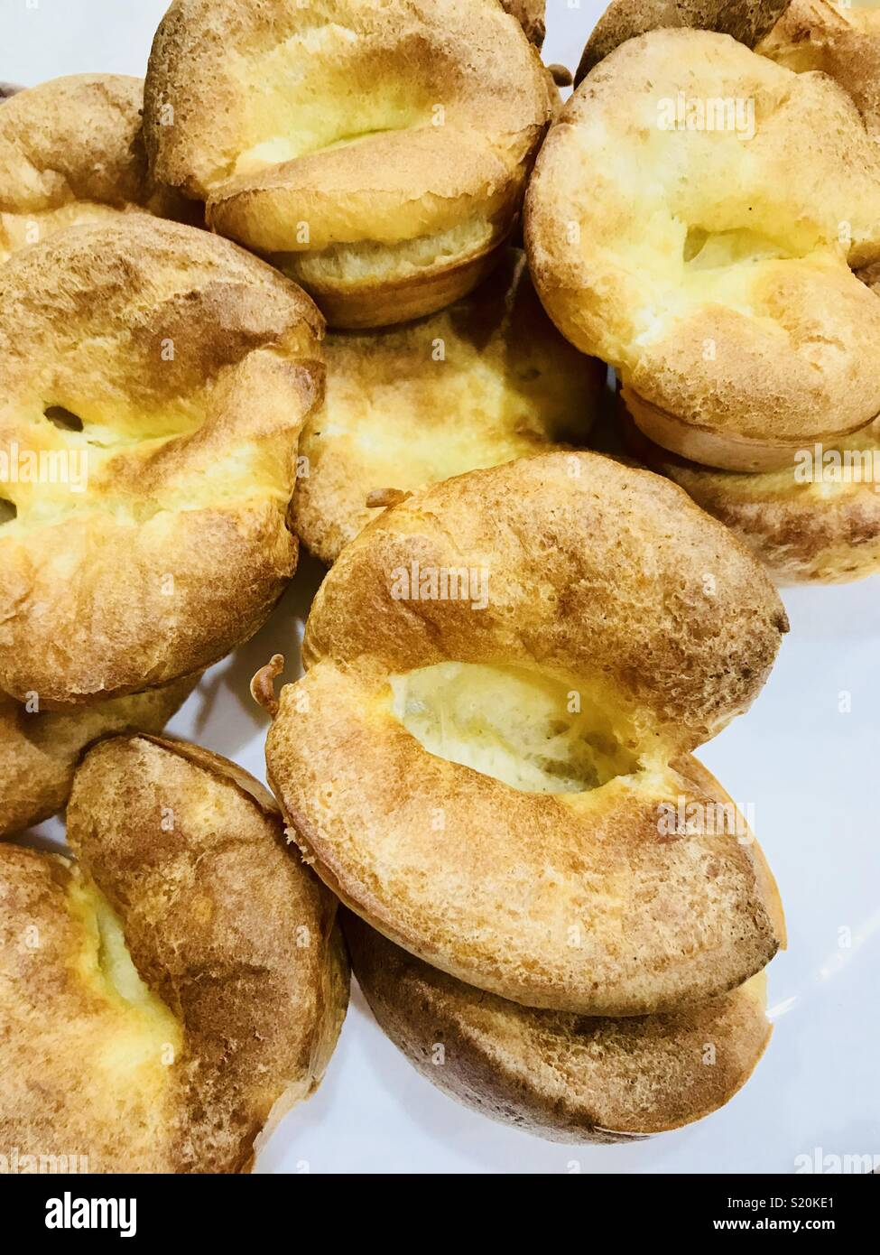 Yorkshire puddings Stock Photo