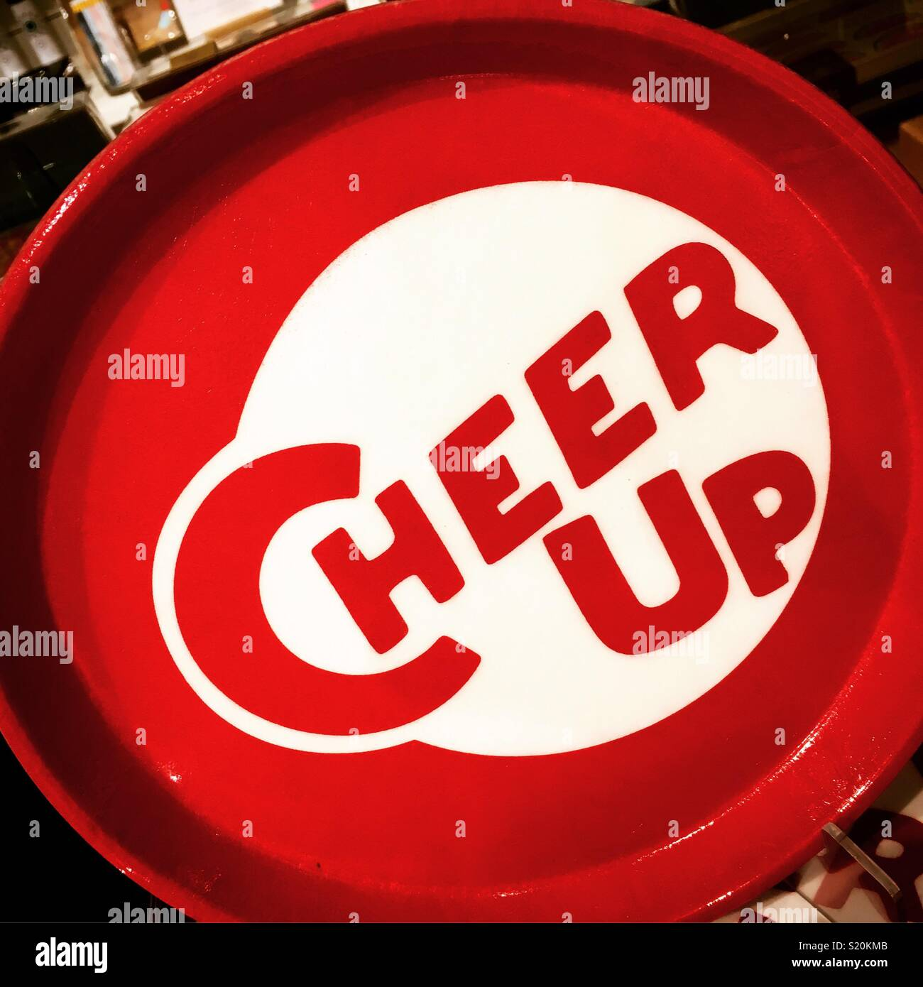Cheer Up - Stock Image