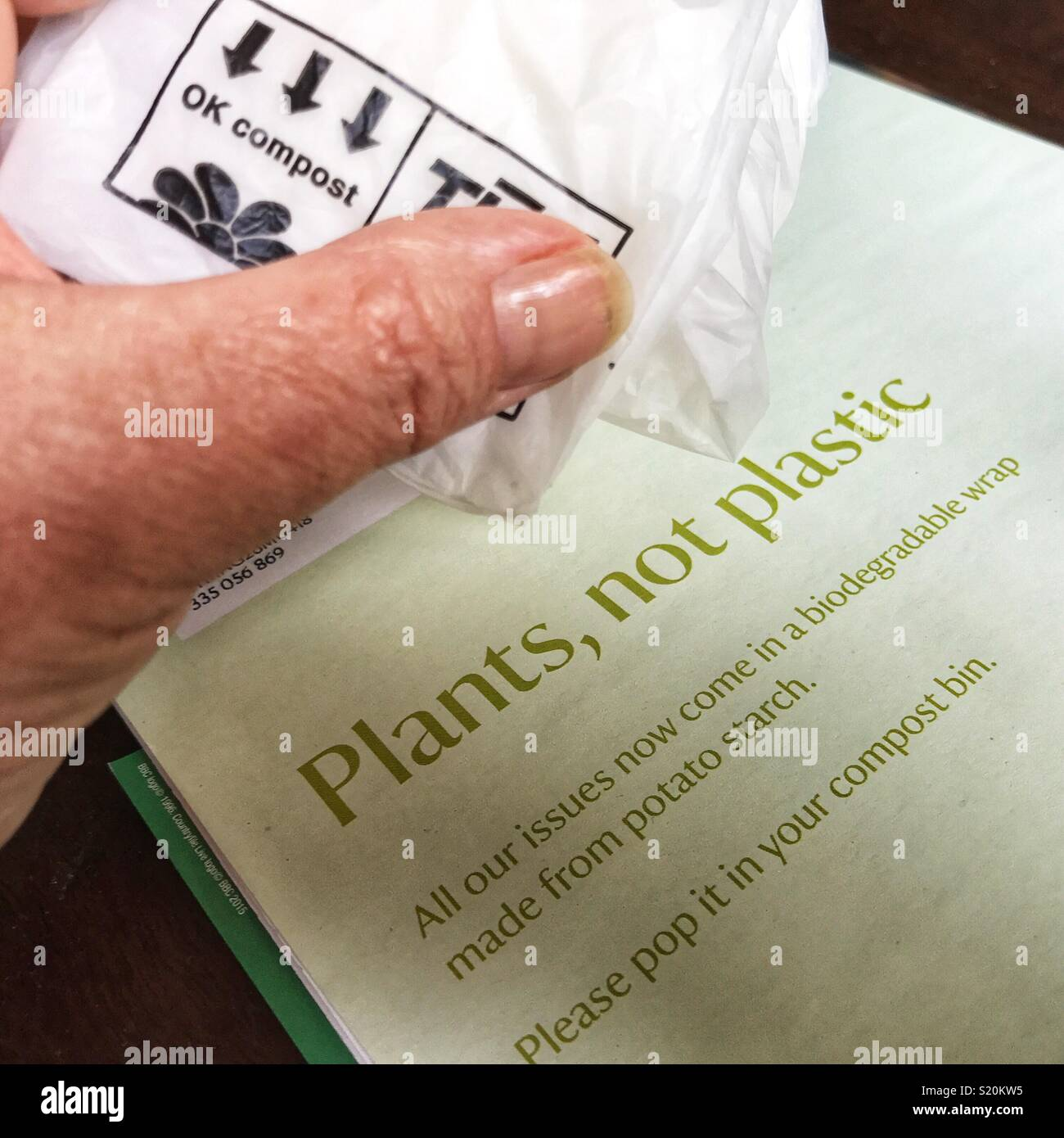 biodegradable plastic from potato starch