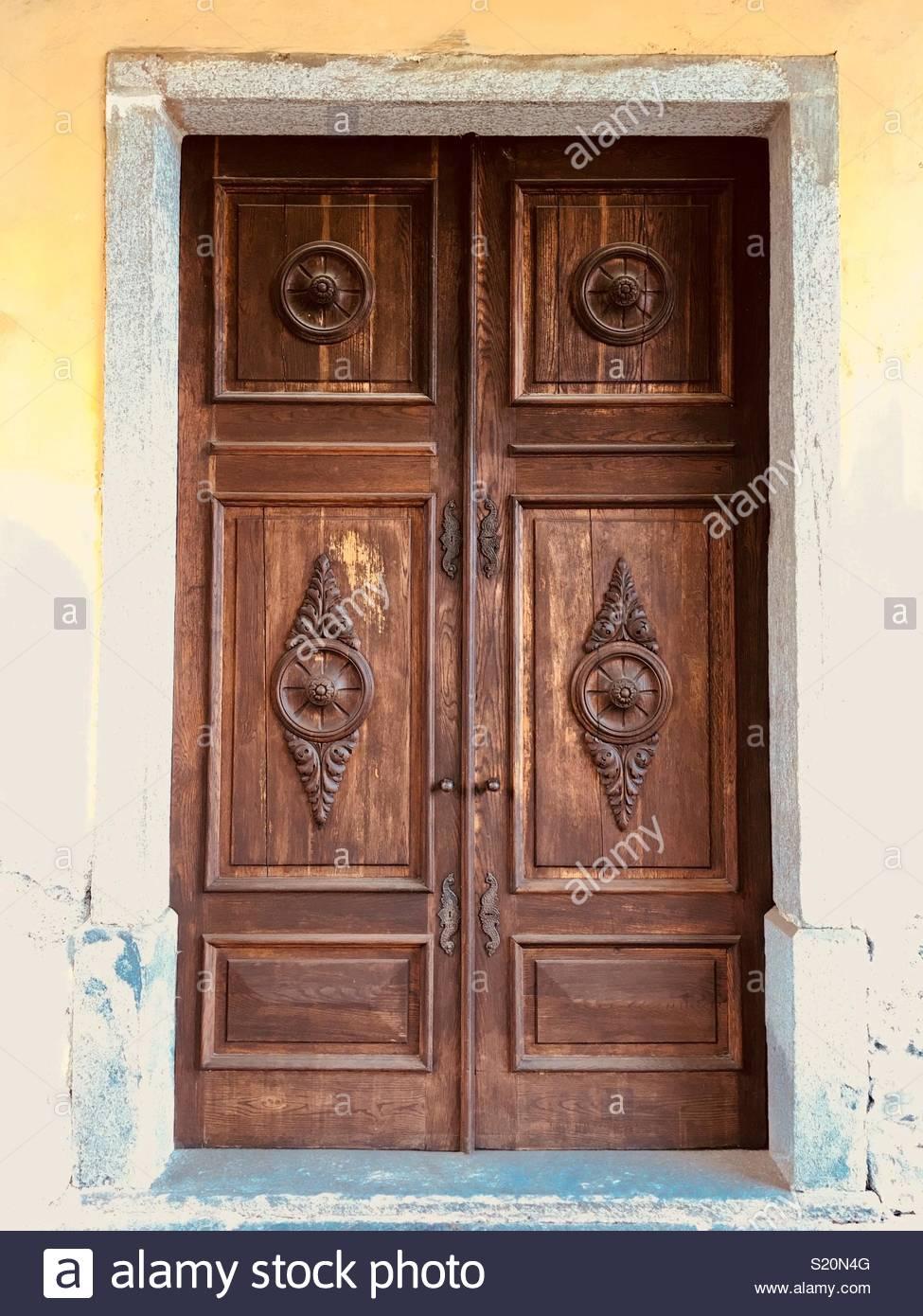 Old Door Design Stock Photo 311032528 Alamy