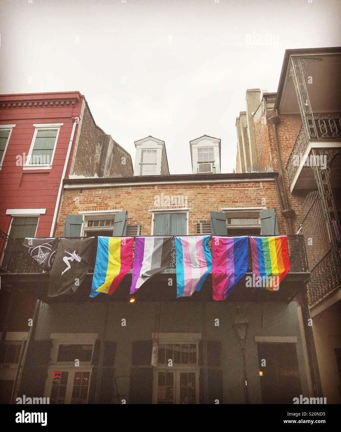 LGBTQ, New Orleans - Stock Image