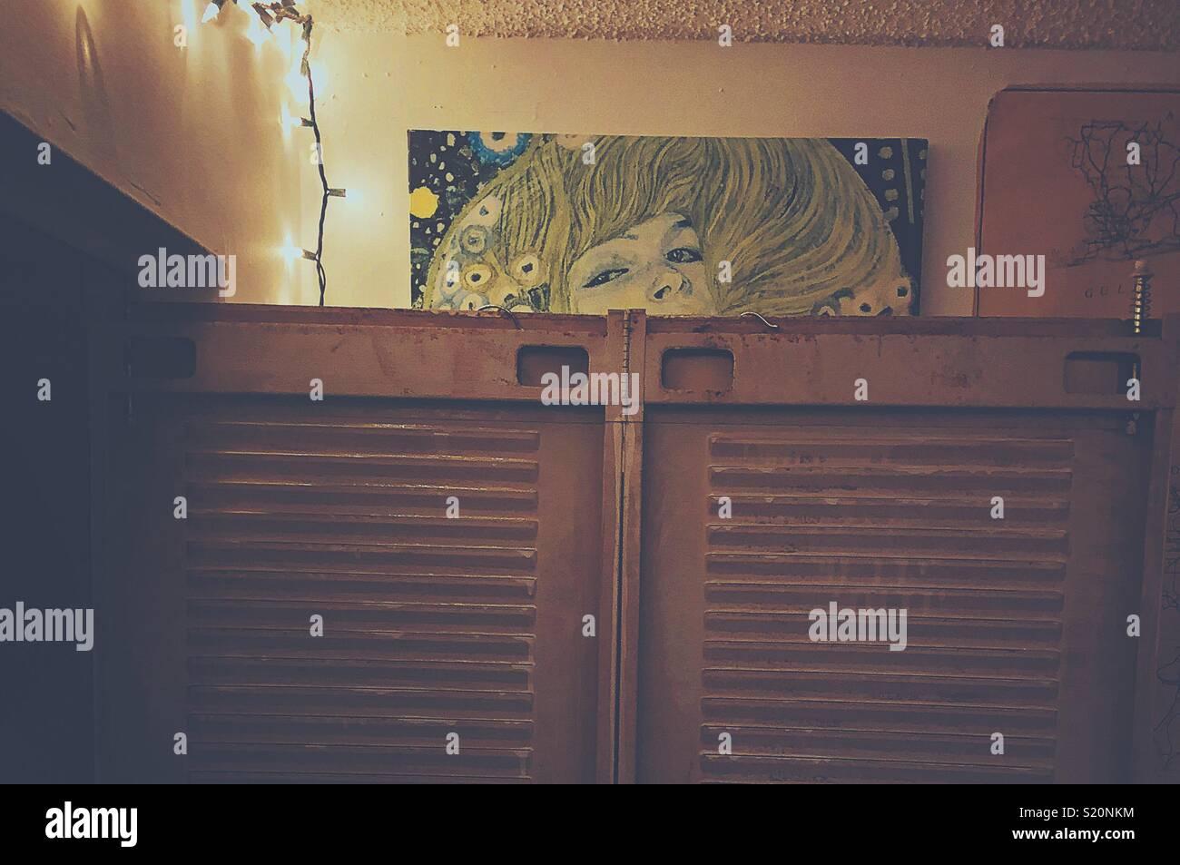 Klimt Glimpse - Stock Image