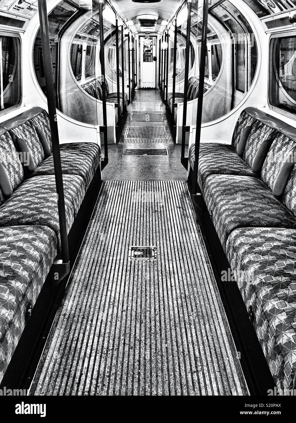 Night tube - Stock Image