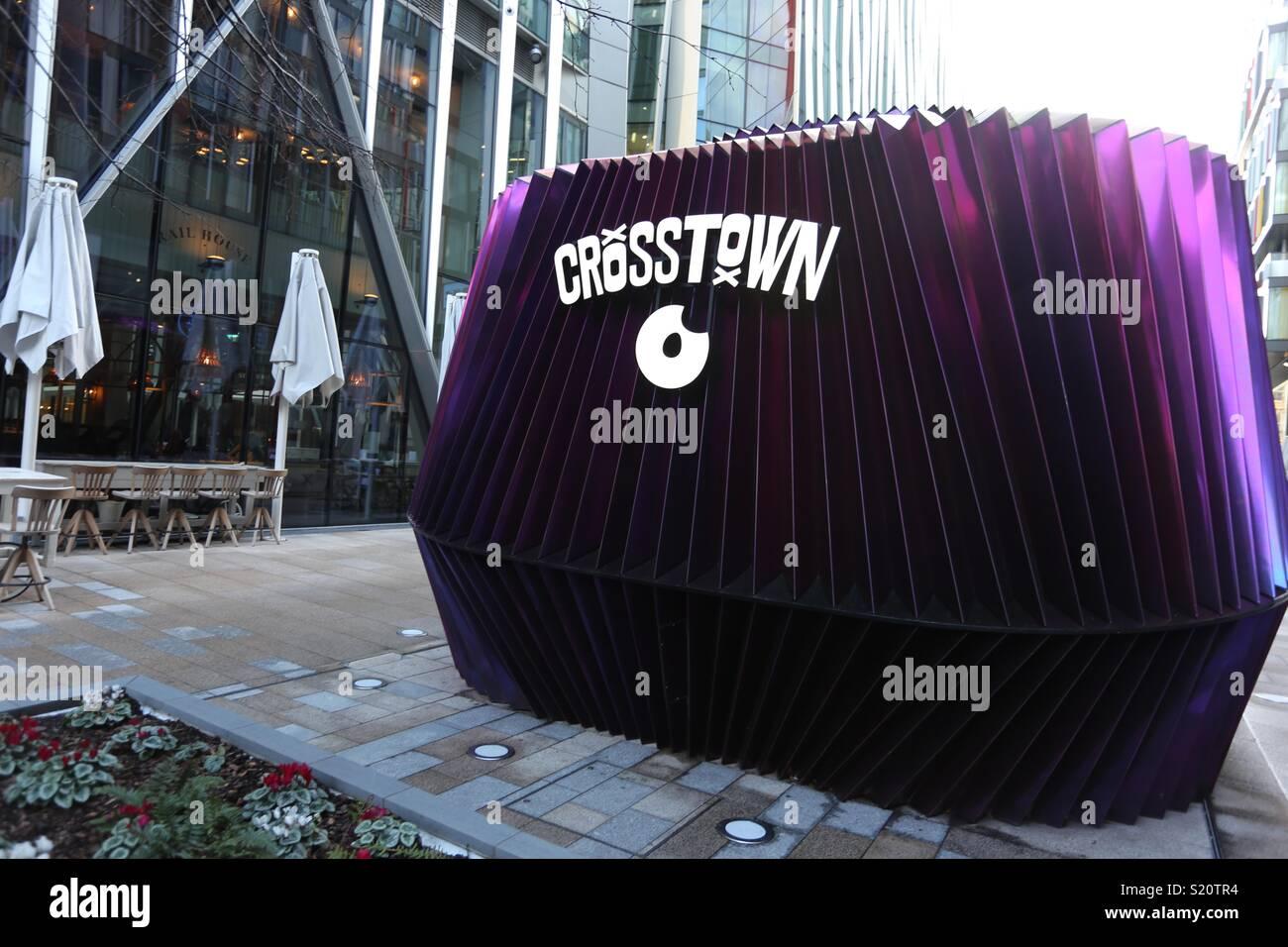 Crosstown Doughnuts - Stock Image