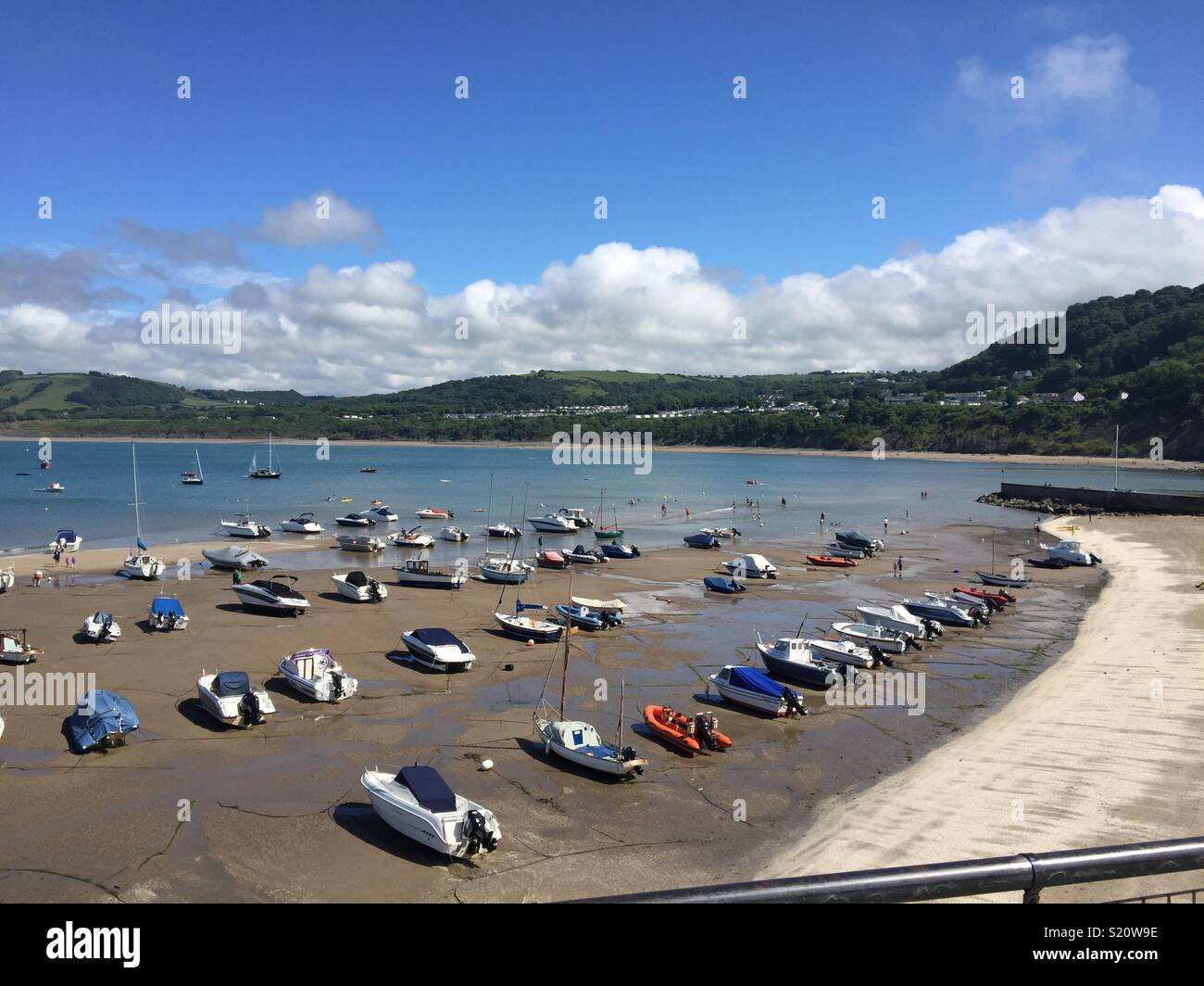 New quay wales - Stock Image
