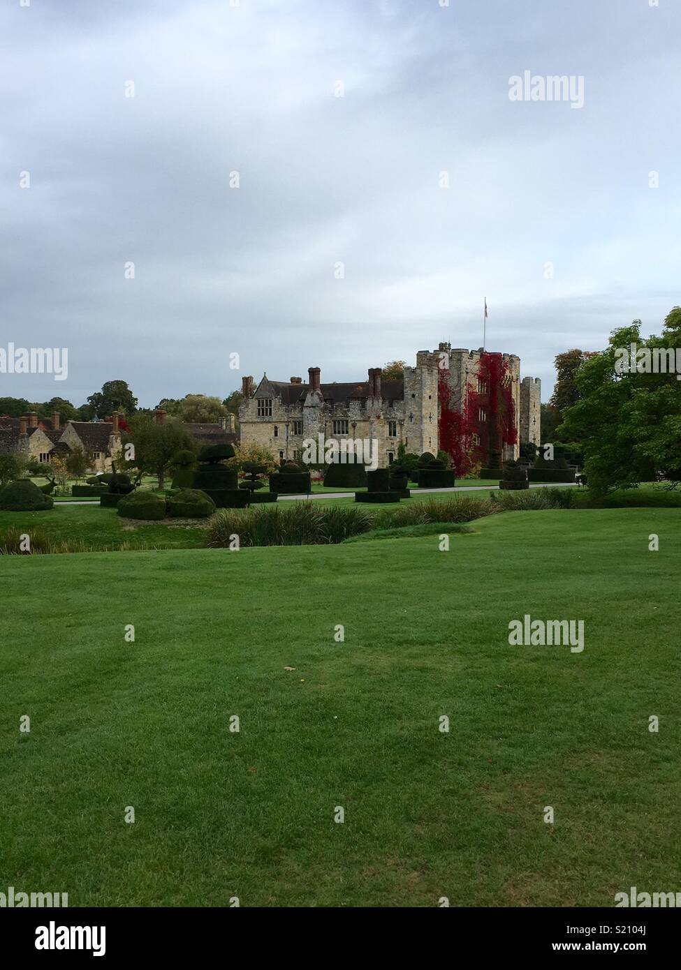 Hever Castle - Stock Image