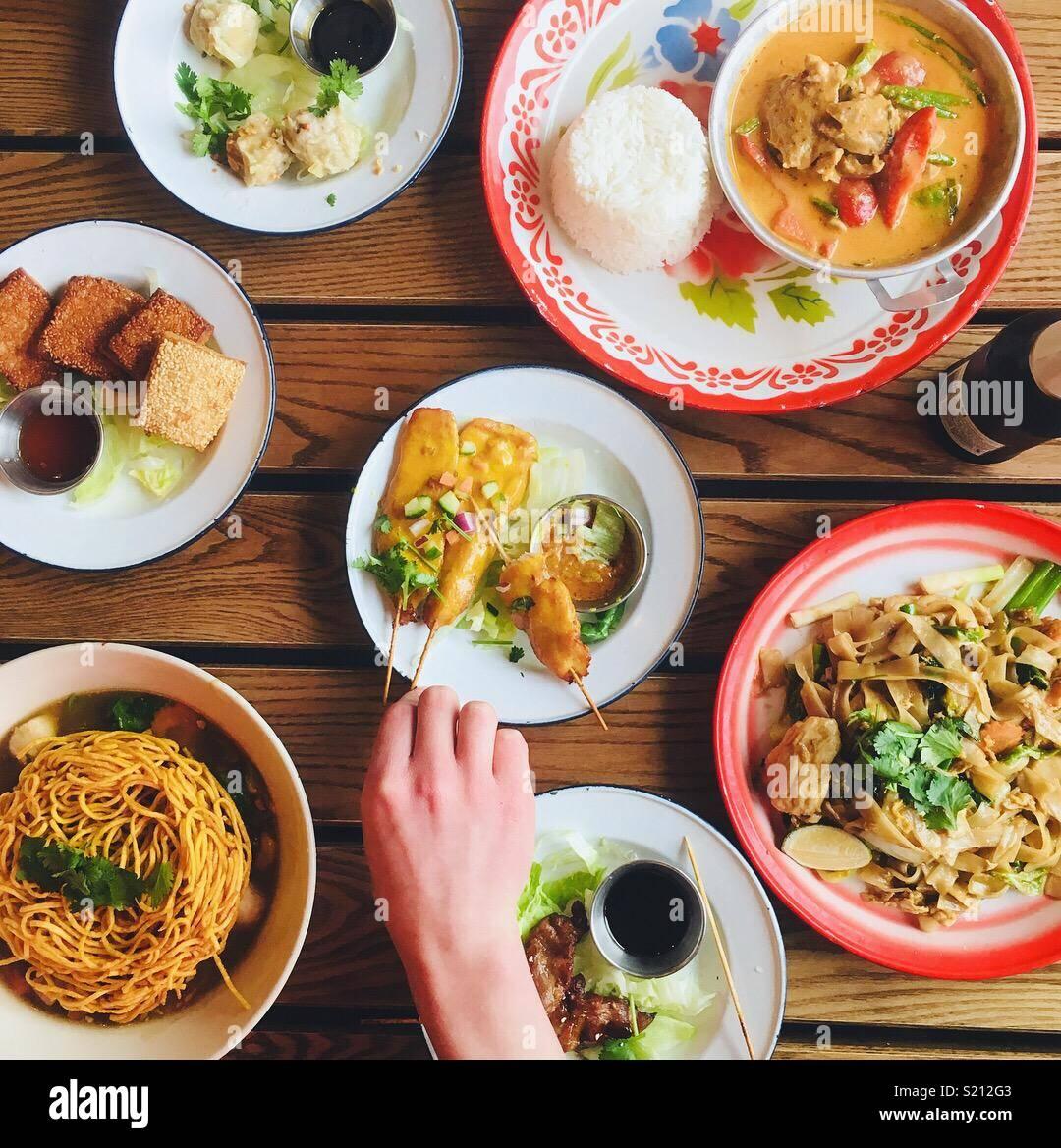Street food at ZAAP Nottingham - Stock Image