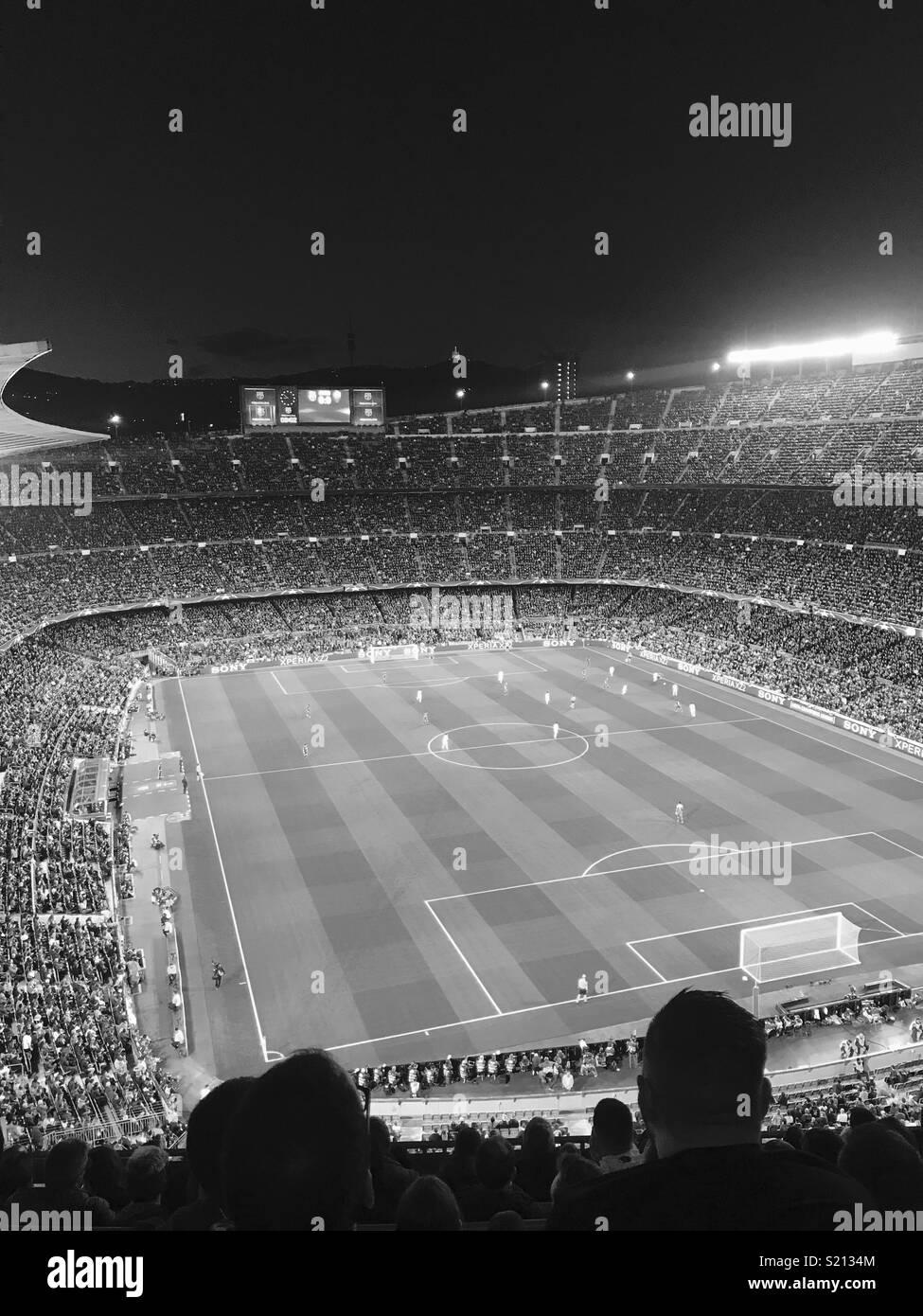BCN Camp Nou - Stock Image