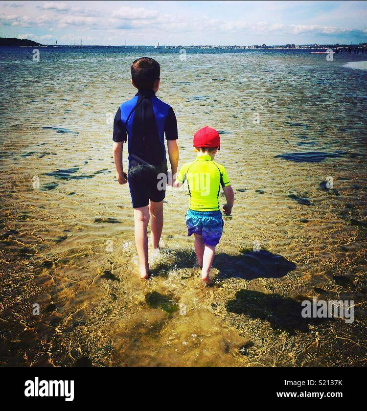 Sun sea and love - Stock Image
