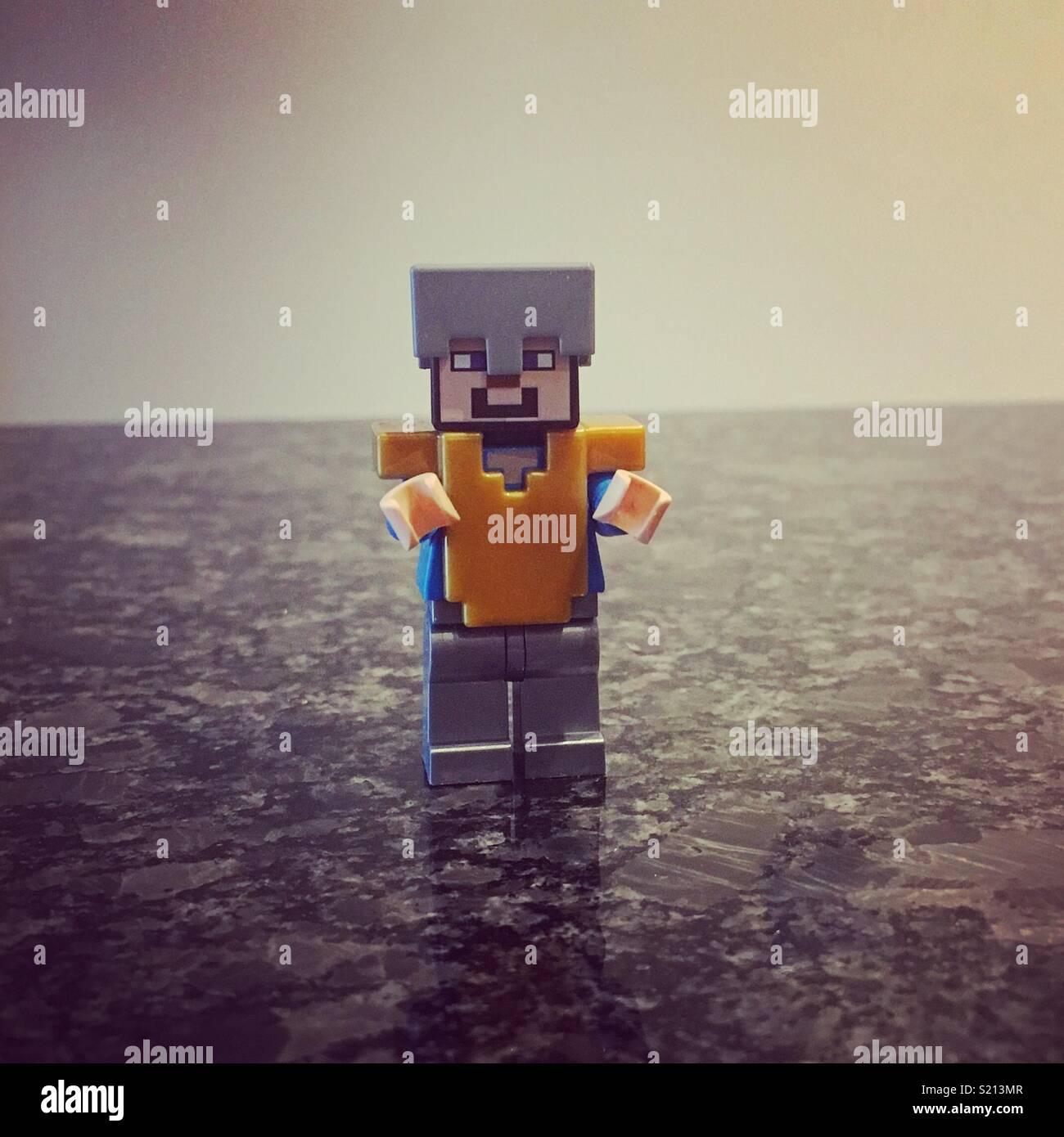 Lego man - Stock Image