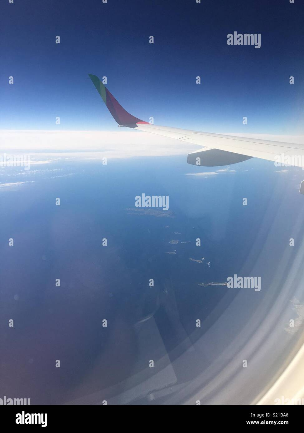 Prime Aeroplane Window Seat View Stock Photo 311046800 Alamy Cjindustries Chair Design For Home Cjindustriesco