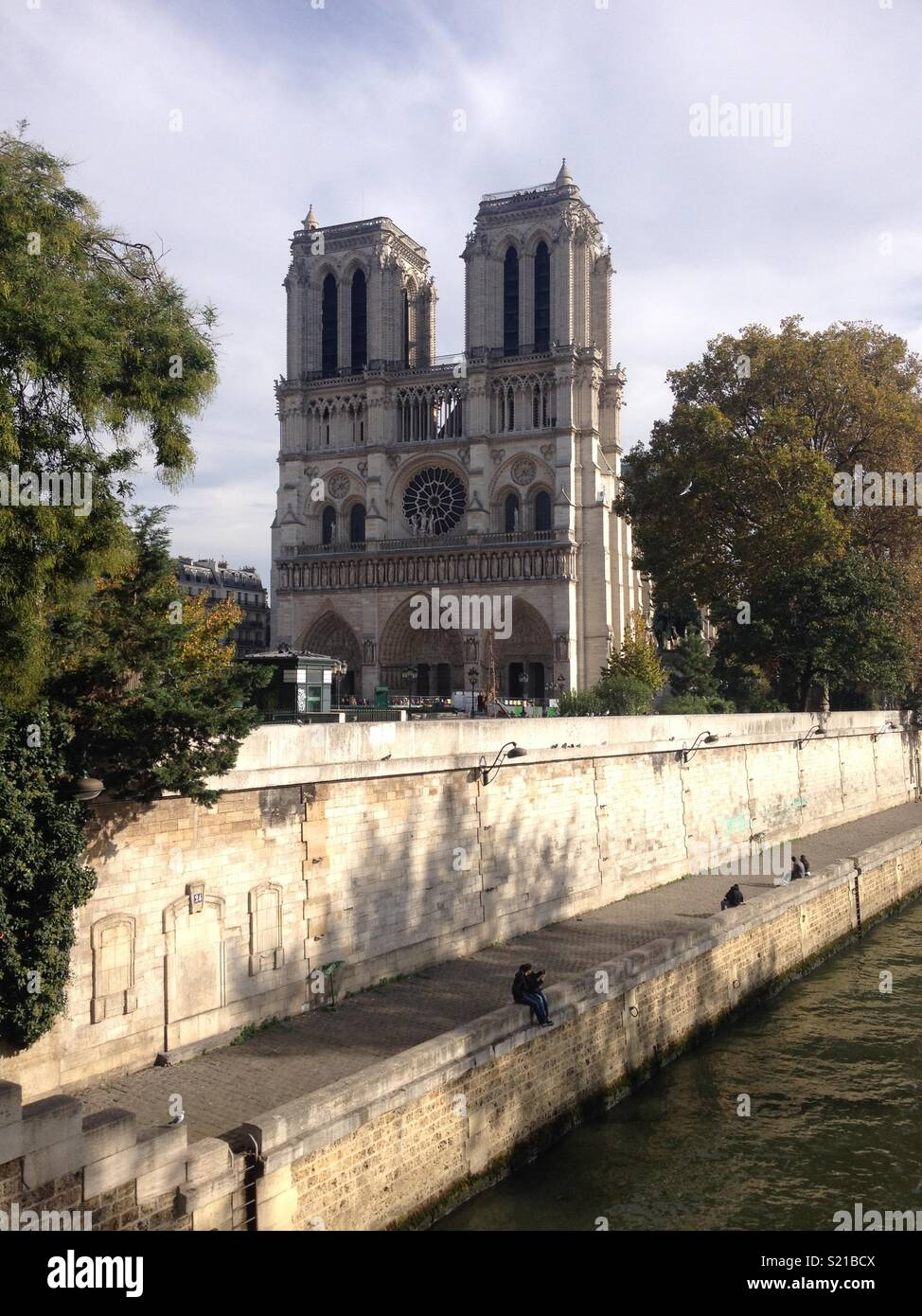 Notre-Dame - Stock Image
