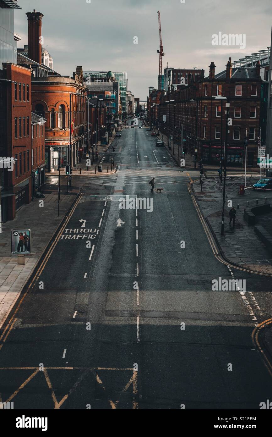 Deansgate - Manchester - Stock Image
