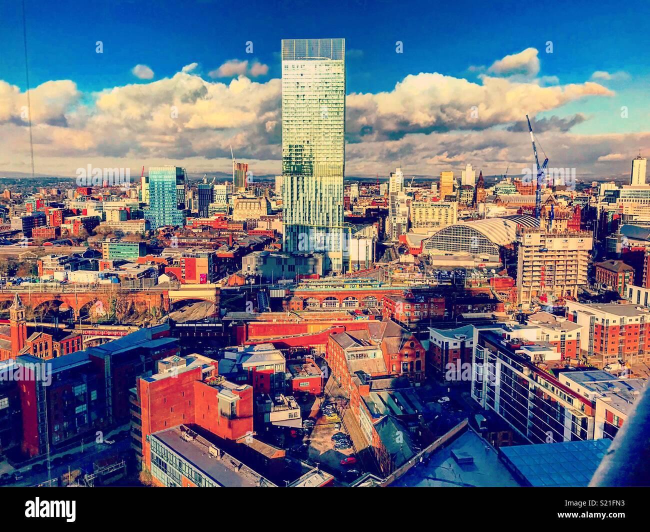 Ain't no city quite like mine. - Stock Image