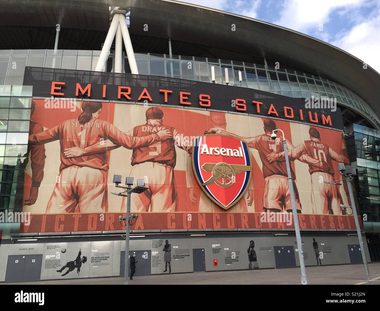 Emirates stadium - Stock Image