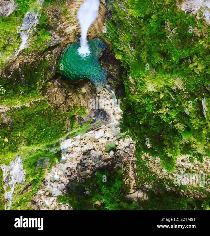 Waterfall, Germany - Stock Image