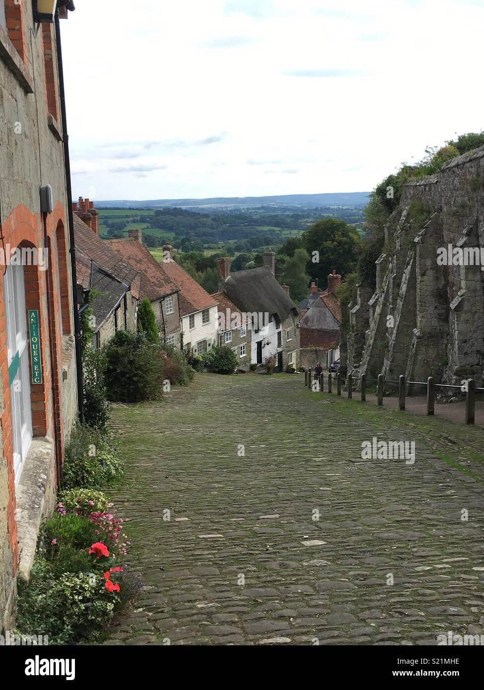 Shaftesbury Memories - Stock Image
