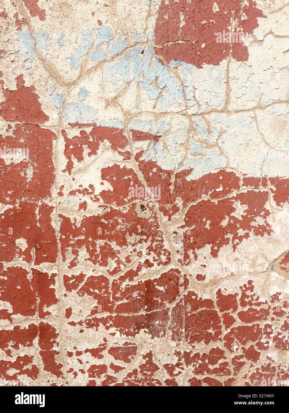 Distressed wall - Stock Image