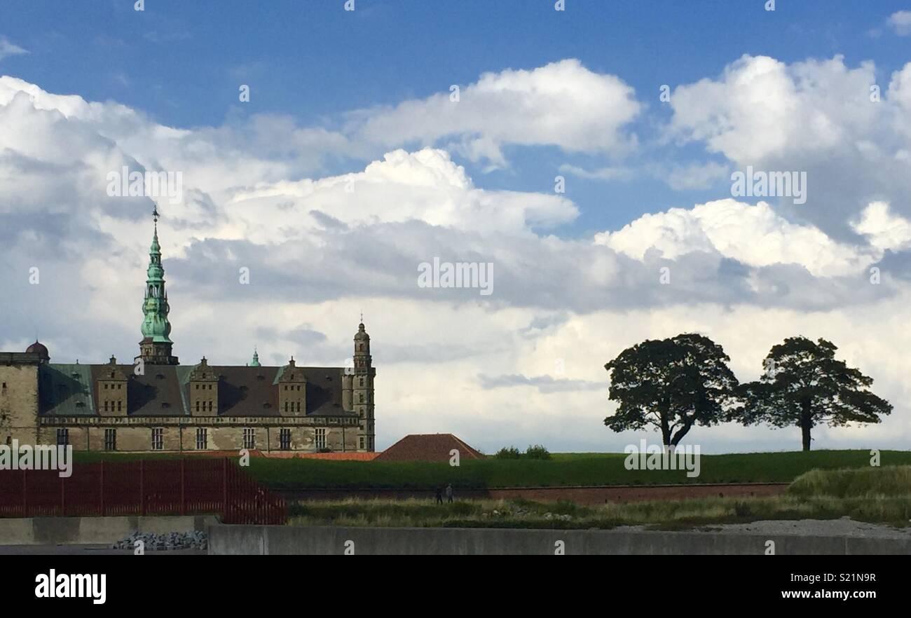Kronborg Castle, Helsingborg, Denmark - Stock Image