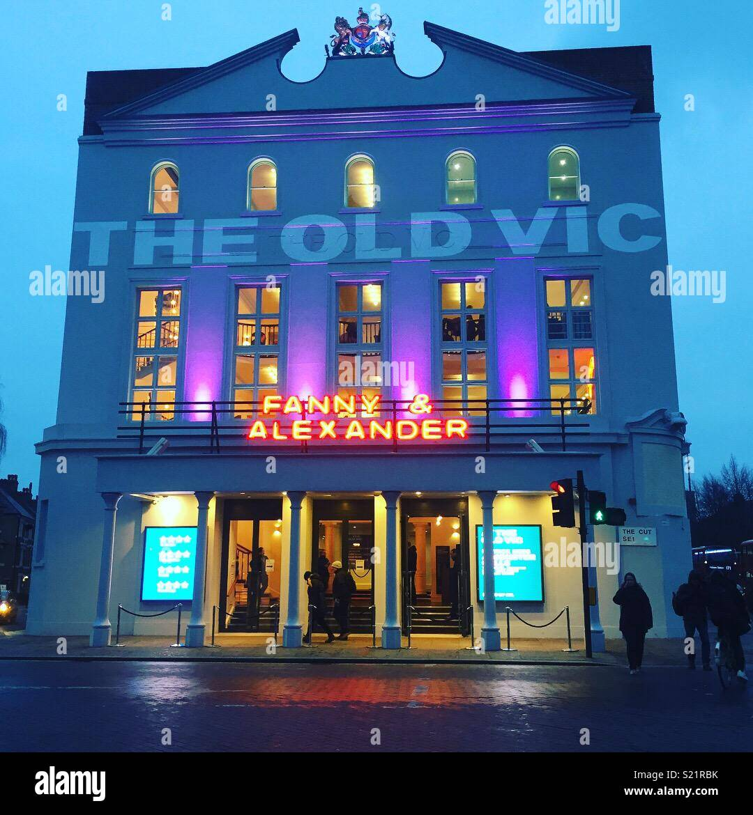 The Old Vic theatre - Stock Image