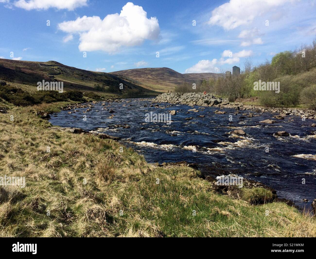 The River Tees, North Pennines - Stock Image