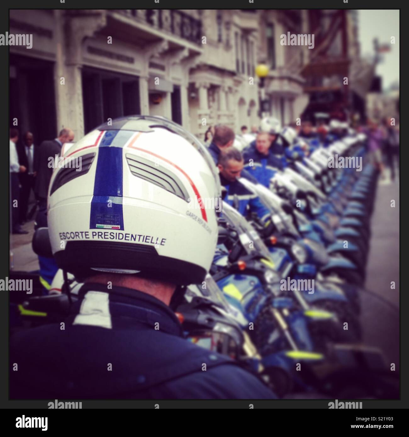 Gendarmerie - Stock Image