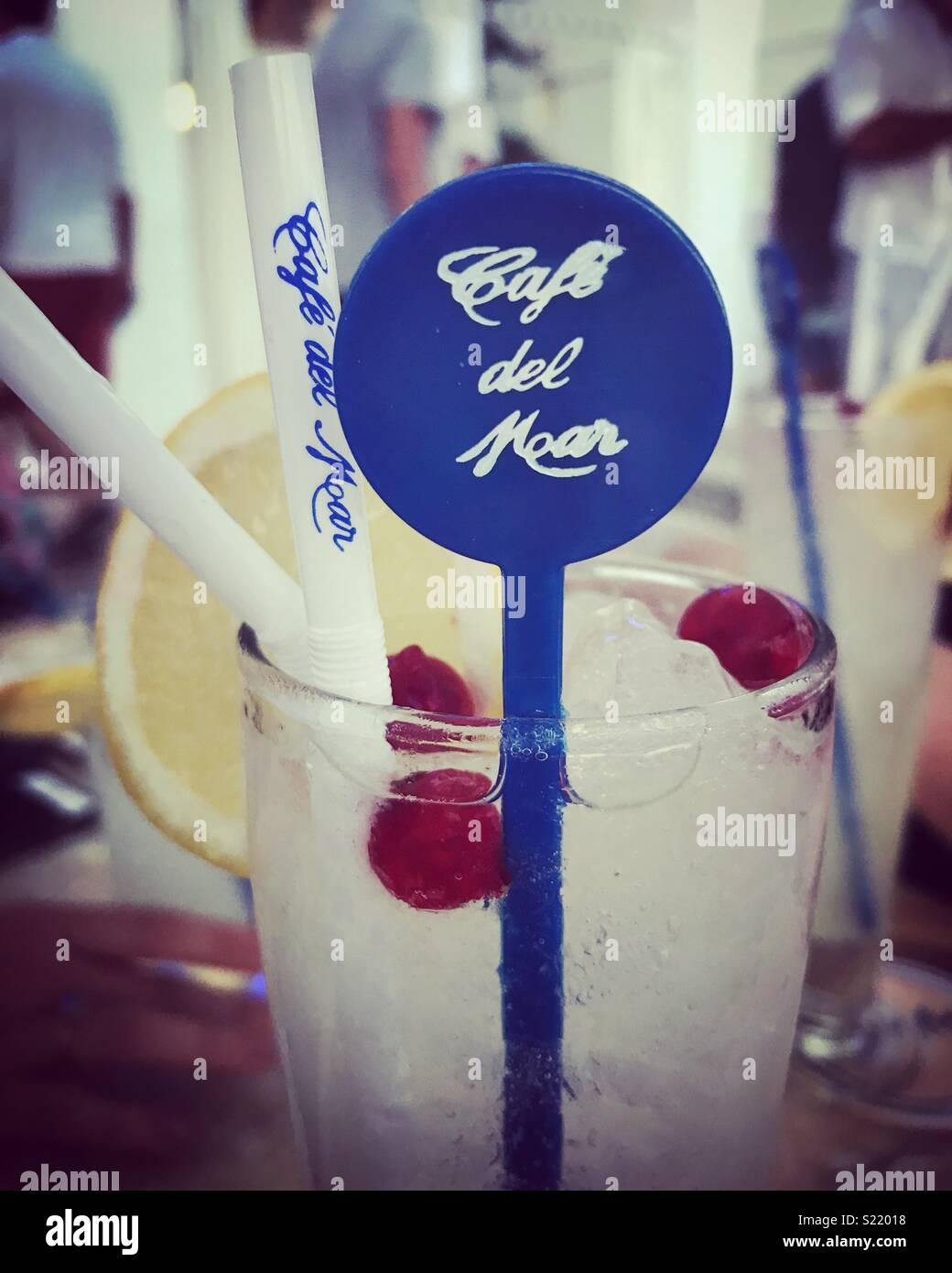 Cafe Del Mar - Stock Image